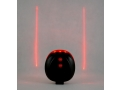 Oświetlenie rowerowe tylne led z laserem HIT
