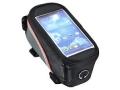 Torba na rowerowa sakwa z etui na telefon GPS