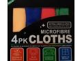 MIKROFIBRA 4x 30x30cm do polerowania i czyszczenia
