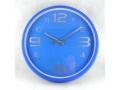 Zegar ścienny wskazówkowy 33cm kolorowy