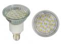 Żarówka JDR E14 LED, 21 SMD ciepłe białe - 1,5W
