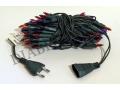 Lampki Choinkowe 100 gruby kabel multikolor