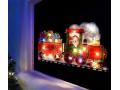 Dwustronna Świąteczna Dekoracja Do Okna - Pociąg