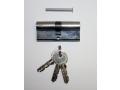 Wkładka do zamka srebrna 70mm 3 klucze
