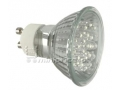 Żarówka diodowa 20 LED -trzonek GU10 ~220V ciepła