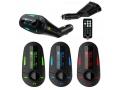 Transmiter FM MP3 WMA USB SD MiniJack OBROTOWY 360