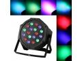 PROJEKTOR LASEROWY LED PAR REFLEKTOR LED RGB 18LED