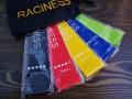 Zestaw gum fitness crossfit 5szt z woreczkiem