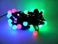 Lampki choinkowe KULKI 40led multikolor