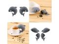 Zaparzacz  Do Herbaty Delfin Silikon