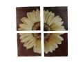 Obraz Dzielony 4 Elementy Biały Kwiat