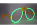 Światło chemiczne neonowy okulary