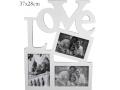 RAMKA NA TRZY ZDJĘCIA LOVE A-81138