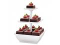 Patera składana na ciasto 3 poziomy