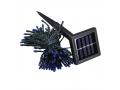 Lampki Choinkowe Solarne 100 LED Białe Zimne