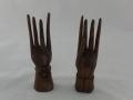 Dekoracja drewniana - ręce