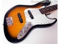 Gitara Basowa Adelita Jazz Bass - Brąz