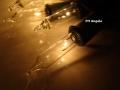 Lampki Choinkowe 200 gruby kabel białe