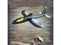 Samolot styropianowy z napędem
