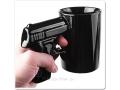 Gangsterski kubek pistolet dla prawdziwego twardzi