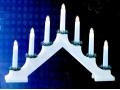 Elektryczny Świecznik Adwentowy 7 Świeczek