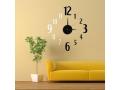 Zegar ścienny, na ścianę DIY - samoprzylepny