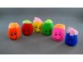 Zabawka uśmiechnięty Pan gniotek mix kolorów duz