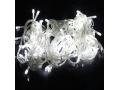 Lampki Choinkowe LED 100 Białe Zimne Przeźroczyste