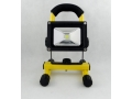 Halogen LED 10W projekcyjna lampa z akumulatorem