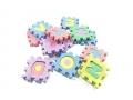 Puzzle piankowe edukacyjne 36 elementów