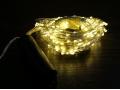 Lampki łezki led 15 drutów 300led 200cm biały ciep