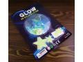 Planety fluorescencyjne 3D + gwiazdki