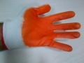 Rękawice Ogrodowe robocze pomaranczowe